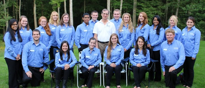2013-2014 College Ambassadors with Dean Weidemann