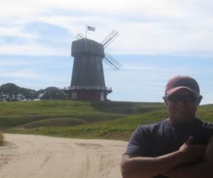 Evan at National Golf Links of America