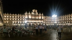 Plaza de Mayor in Salamanca, Spain