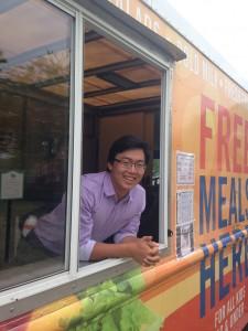 Colin, mobile Summer Meals Program