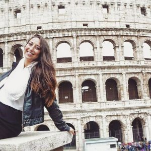 Yarden in Rome during Study Abroad