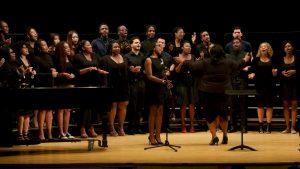 Djion in Voice of Freedom Gospel Choir